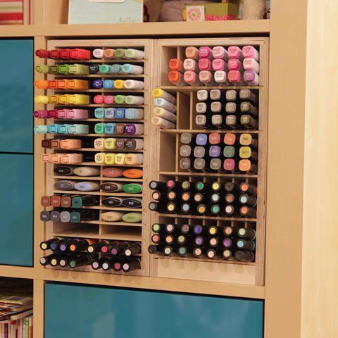 Craft Markers Storage