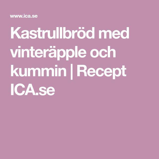 Kastrullbröd med vinteräpple och kummin | Recept ICA.se