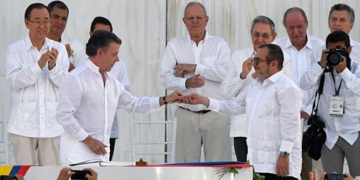 Presiden Santos Dinilai Bekerja Keras Hentikan Perang di Kolombia - KOMPAS.com
