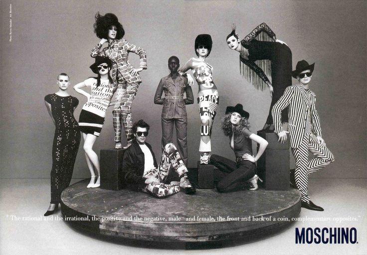 Moschino by Rossella Jardini, fotografia di Ruven Afanador, Primavera Estate 1997
