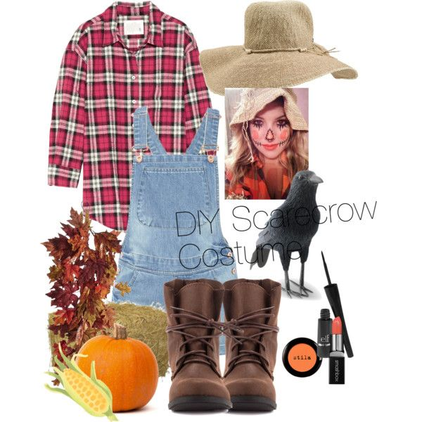 This is a set on how to make a DIY Scarecrow costume! This is actually inexpensive and it's very adorable, and it's quite easy to make!  You will need: -Any fla...