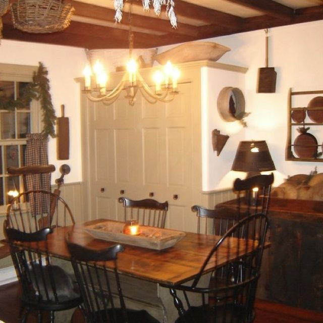 Primitive dining room | Dining Rooms