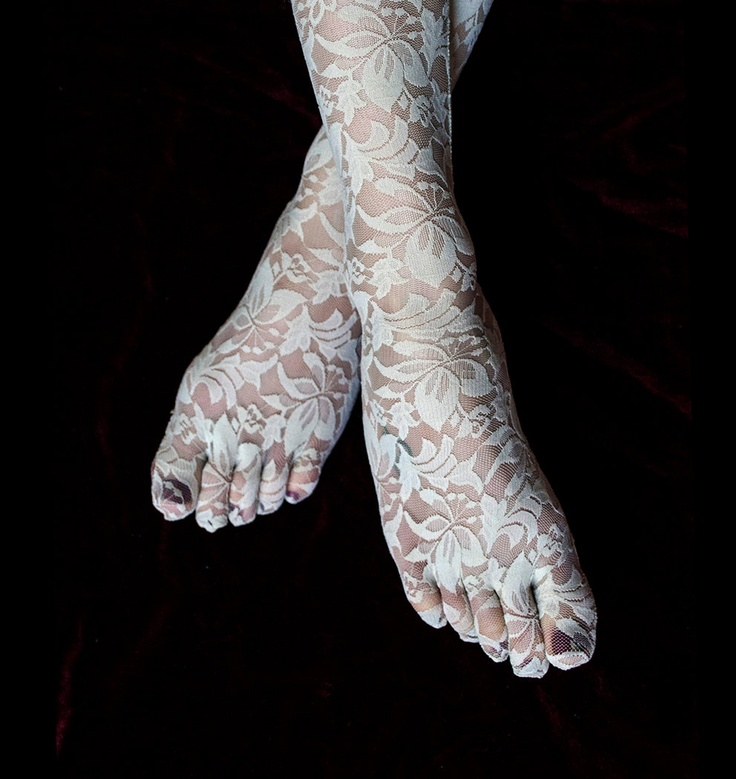 Lace Toe Socks