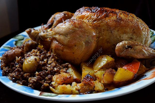 Kitchen Stories: Christmas Chicken with Minced Meat Stuffing