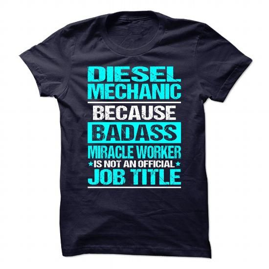 Awesome Shirt for DIESEL MECHANIC T-Shirts, Hoodies, Sweatshirts, Tee Shirts (20.99$ ==> Shopping Now!)