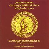 Johann Stamitz, Christoph Willibald Gluck: Sinfonie a tre [CD], 13975340