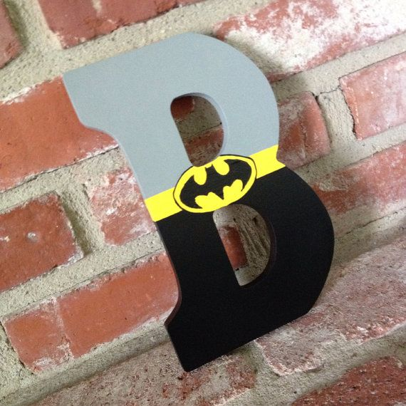 Hey, I found this really awesome Etsy listing at https://www.etsy.com/listing/180028403/hand-painted-superhero-letters-for