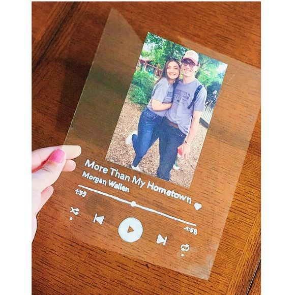 Spotify Glass Diy Birthday Gifts For Sister Diy Gifts For Friends Diy Birthday Gifts For Him