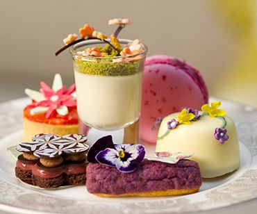 Edible Afternoon Tea for The Chelsea Flower Show at the InterContinental Westminster London. www.highteasociety.com