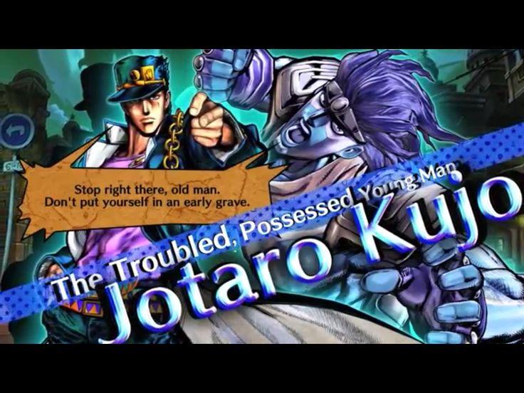screenshot Jotaro Kujo and his Stand of the videogame Jojo's All Star Battle