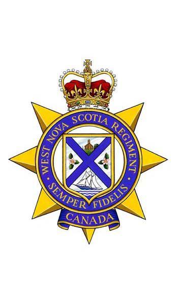 The West Nova Scotia Regiment.