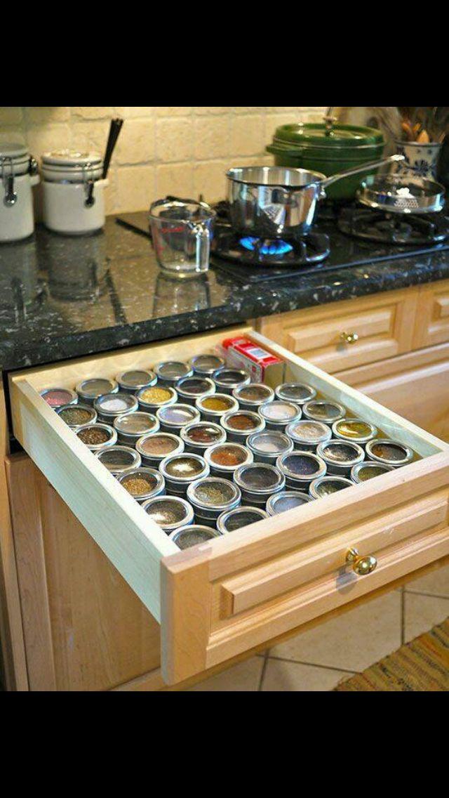 Organizar cajones cocina pinterest for Organizar cajones cocina