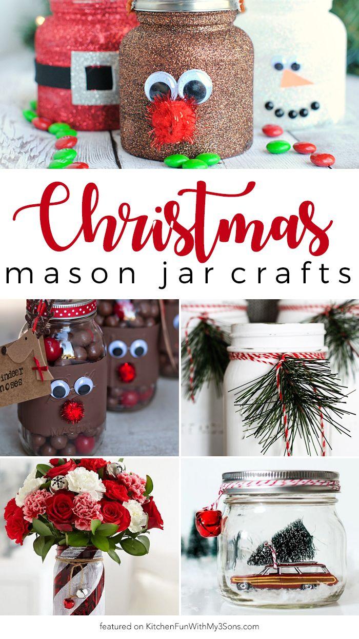 best 25 christmas mason jars ideas on pinterest mason jar christmas crafts mason jar and. Black Bedroom Furniture Sets. Home Design Ideas