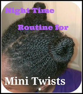 Night Time Routine for Mini Twists  ClassyCurlies.com