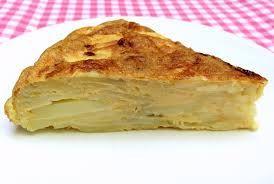 Aardappel tortilla