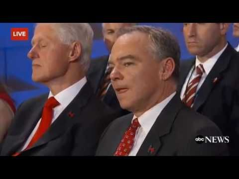 Did Bill Clinton Fall Asleep During Hillary's DNC Speech? - Breitbart