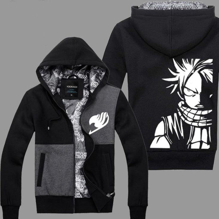 Anime Fairy Tail Casual  Hooded Sweatshirt // Price: $68.65 & FREE Shipping Worldwide //    #fulmetal #alchemist #emo #animefan #otp #cosplayer #anime