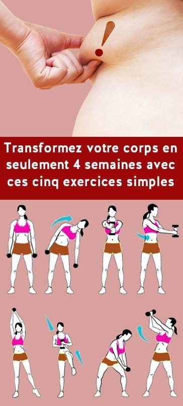 Transformez votre corps en seulement four semaines avec ces cinq exercices simples