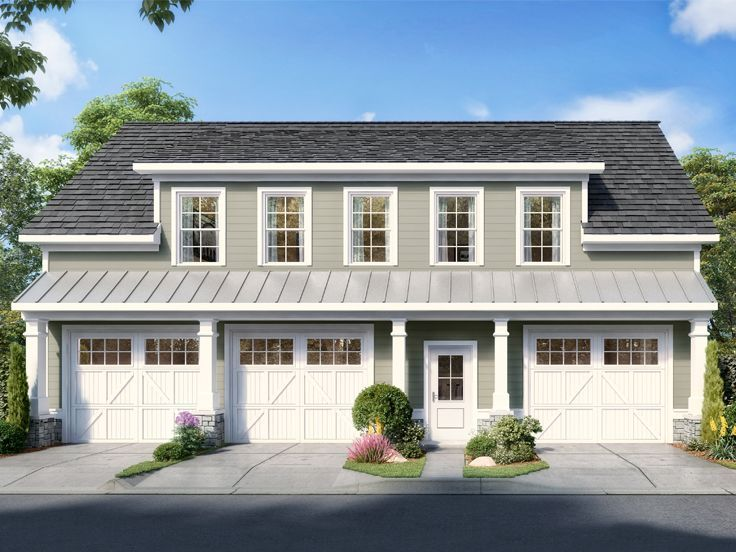 Pin On Carriage House Plans