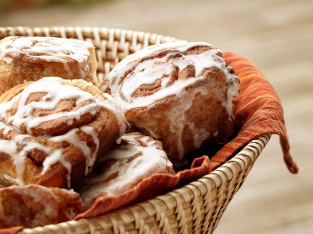 Cinnamon Rolls recipe from Ree Drummond via Food Network