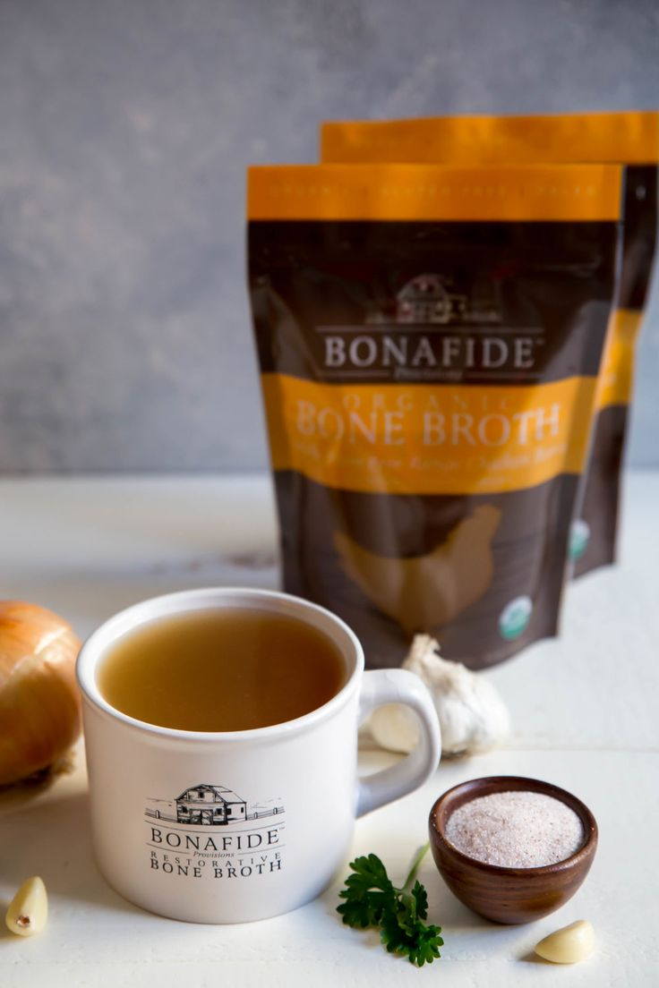 Bonafide Provisions offers a paleo friendly chicken bone broth that is certified organic. Our broth comes frozen to maintain freshness without compromising our production or ingredients.