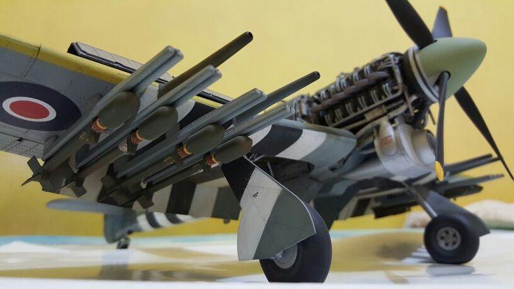 Hawker Typhoon Mk. Ib 1/24 Airfix