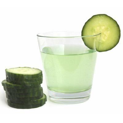 2 cucumber, 1 apple