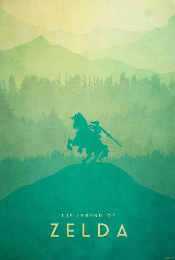 The Legend of Zelda: Warrior Poster - Created by Edward Moran I