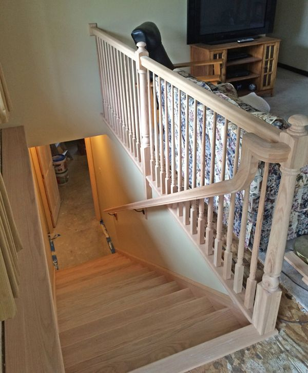 25 best ideas about basement steps on pinterest painted - Before and after the spectacular change of a s living room ...