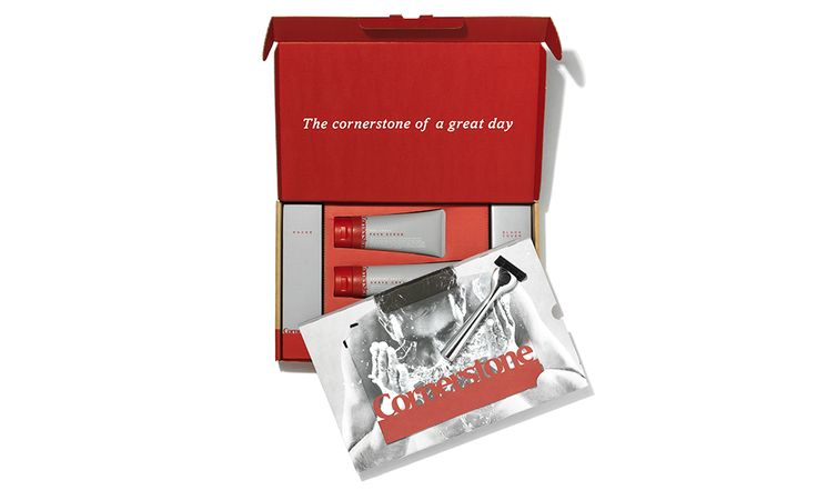 Cornerstone - a flexible, regular delivery of razor blades and men's shaving supplies, so you always have everything you need for a great shave.