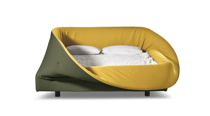 Colletto Bed - Design furnishing by Lago