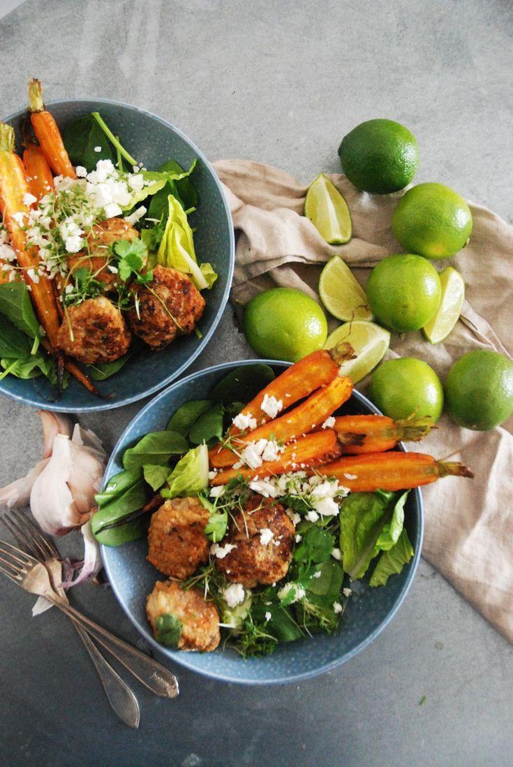 Kycklingbiffar med rostade morötter | Trattoria | Bloglovin'