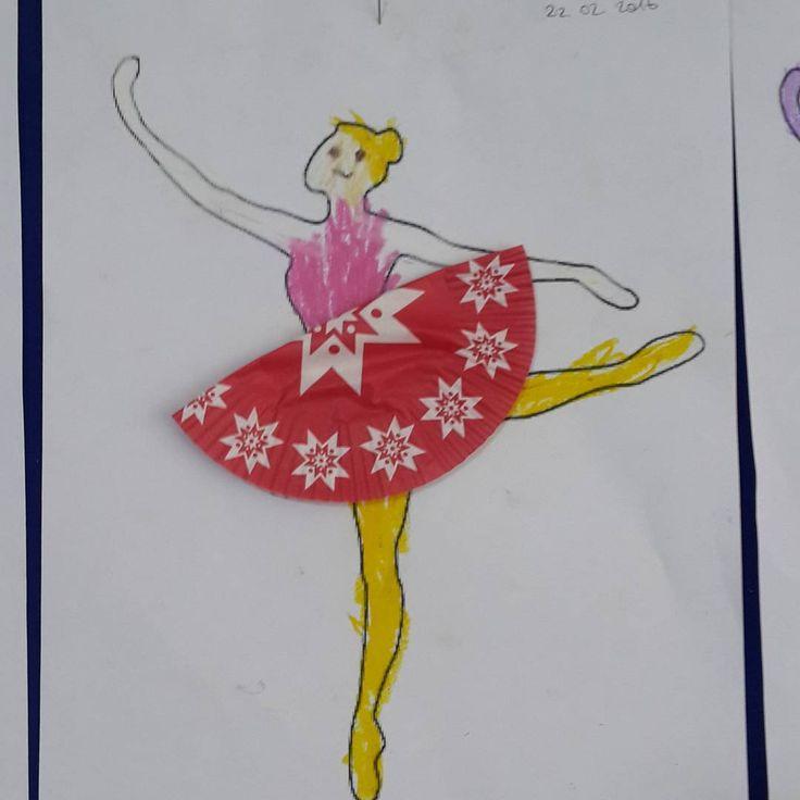 """""""#4yaş #4years #okulöncesi #okulöncesieğitim #çocuk #cocukegitimi #cocukgelisimi#meslekler #balerin #sanat #etkinlikpaylaşımı #sanatetkinligi…"""""""