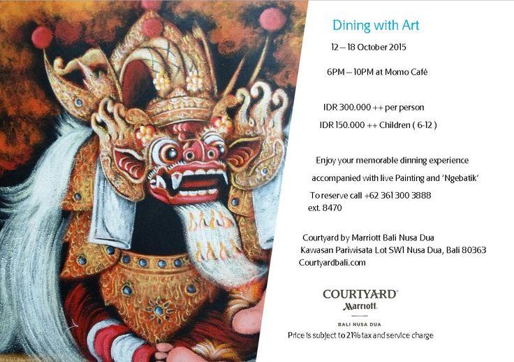 #dinner #marriott #courtyardbali #courtyardnusadua #courtyardmarriottbali