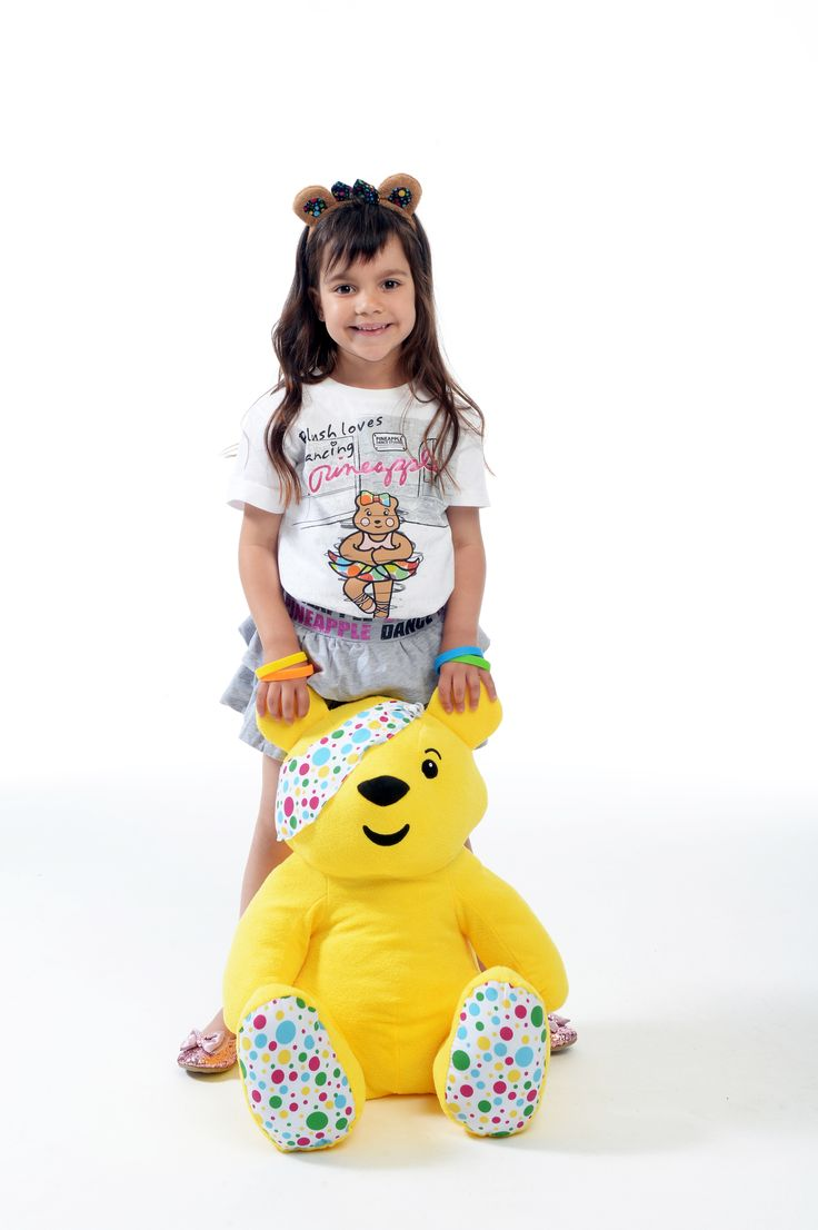 How cute does our fabulous model look in the BBC Children in Need t-shirt?