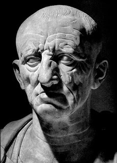 """Marcus Porcius Cato  (Cato the Elder.) ~ """"Tis sometimes the height of wisdom to feign stupidity.""""  (234 BC – 149 BC), Roman statesman, often called """"The Censor""""."""