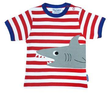 Toby Tiger T-shirt korte mouw haai