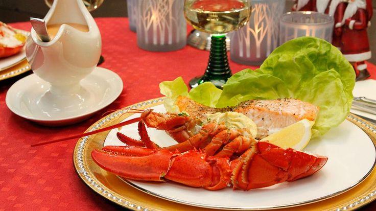 Feestschotel van kreeft, zalm en tomaat-garnaal | VTM Koken