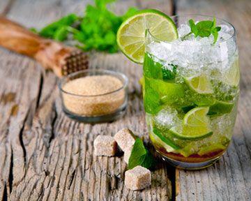Le #mojito, la star de l'été, version Jus de #Pomme Fruité. Rafraîchissement garanti !