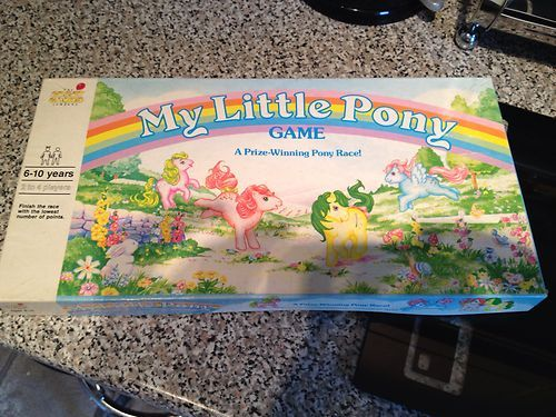 My Little Pony Game 1988. Had this!!!