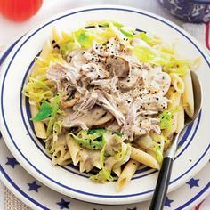 Recept - Romige kalkoenfilet en spitskool - Allerhande