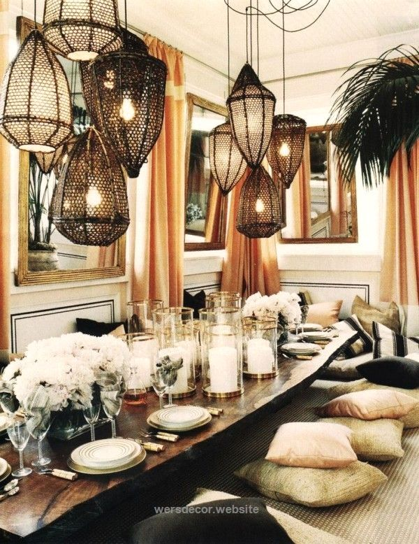 25 best ideas about bohemian dining rooms on pinterest for Dining room ideas bohemian