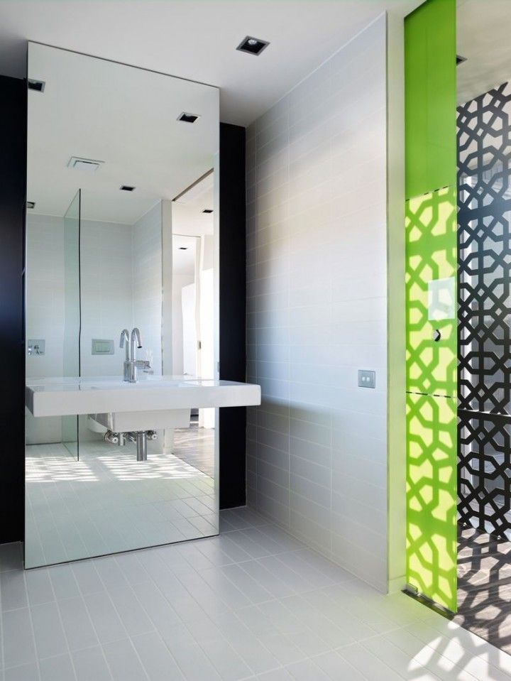 http://www.creatiwebs.com/remodeling-beautiful-mirror-tile-design-for-your-elegant-living-room/stunning-large-decorative-mirror-tiles-design-white-floors-green-doors-modern-style-white-wastafel-white-wall-simple-minimalist-design/ Decoration Large Decorative Mirror Tiles Design White Floors Green Doors Modern Style White Wastafel White Wall Simple Minimalist Design Remodeling Beautiful Mirror Tile Design for Your Elegant Living Room