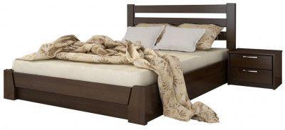 Кровать Estella Селена 120х190 Темный орех