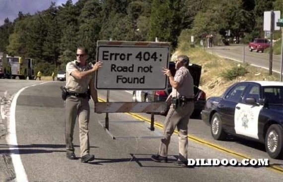 Error 404: Road Not Found | More Funny HTML Jokes