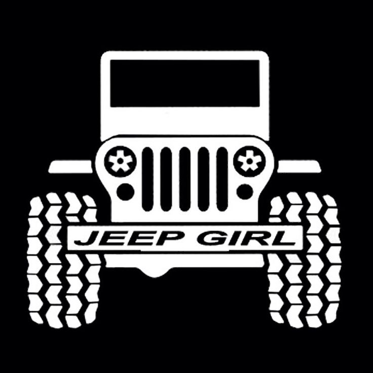Jeep Girl - Jeeps are for girls - Jeep Vinyl Decal - Jeep Decal by StirredStrung on Etsy https://www.etsy.com/listing/229662000/jeep-girl-jeeps-are-for-girls-jeep-vinyl