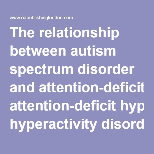 the relationship between autism spectrum disorders and anxiety