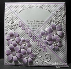 Criss-Cross Birthday Card - Carolynshellard