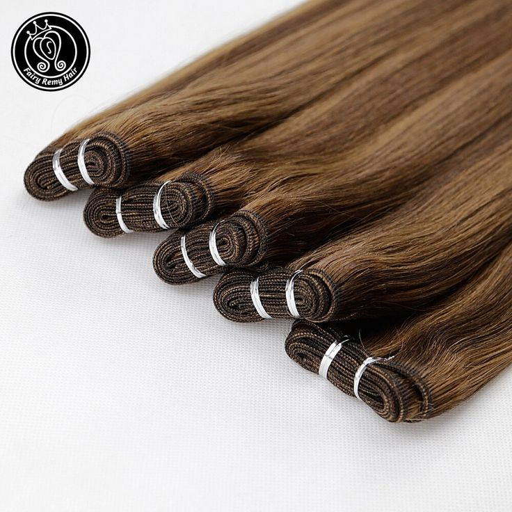 Remy Human Hair Weft 10A Indian Weaves Bundles Str…
