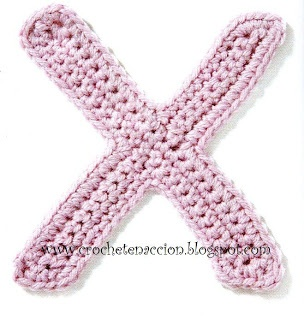 Free Crochet Pattern For The Letter O : Crochet patterns, Crochet and Letters on Pinterest